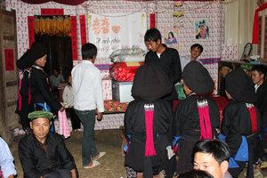 Wedding of the Dzao ethnic people in Sìn Hồ