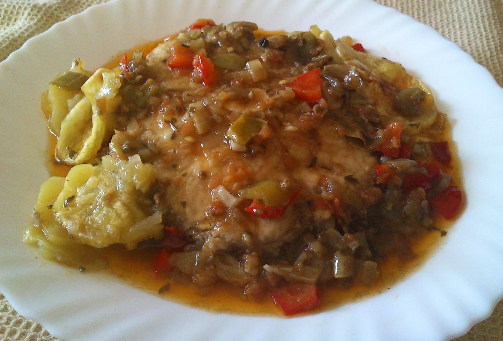 la cocina de inma mic tintorera en salsa