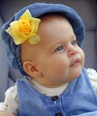 lovely baby girl kid photo