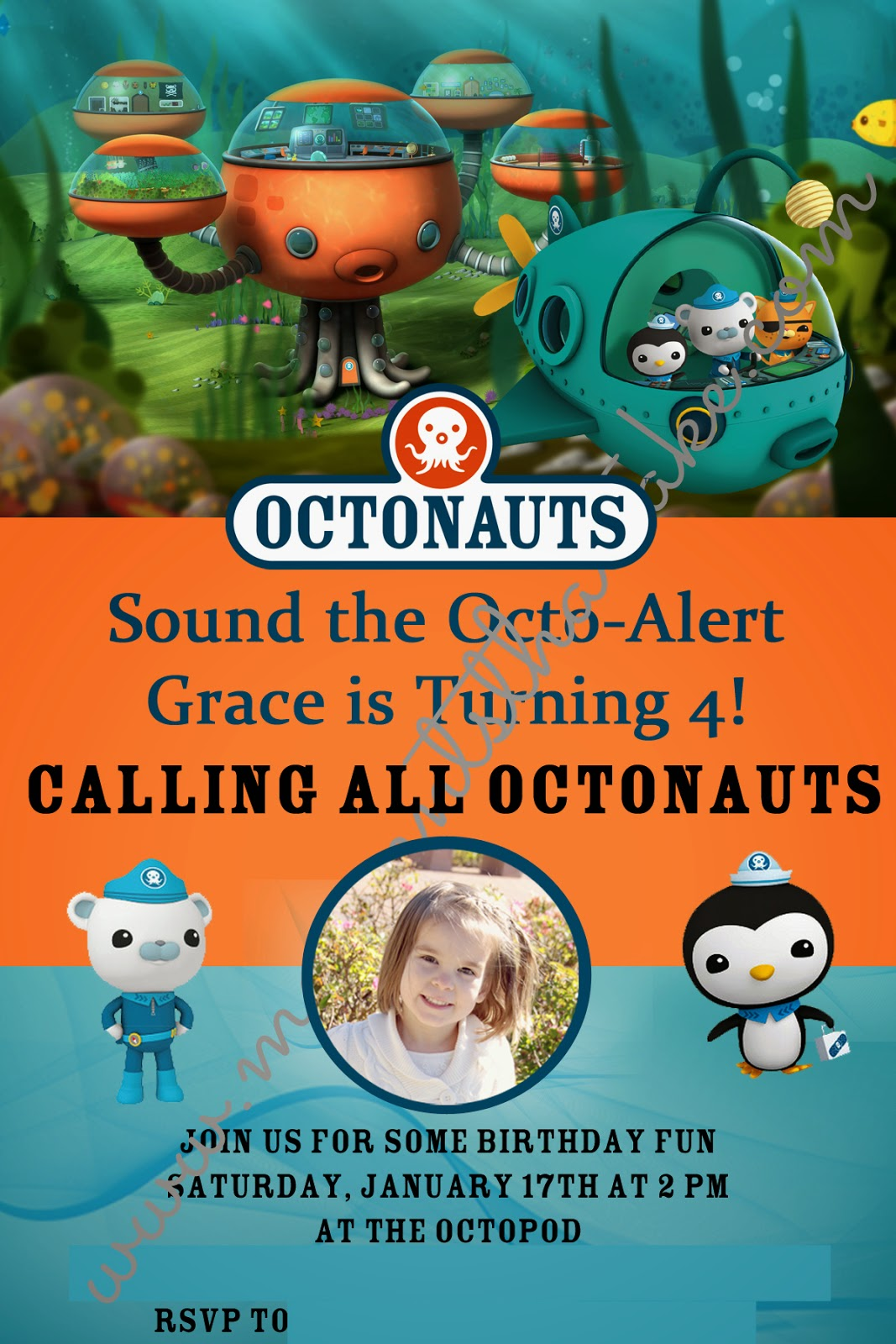 Moments That Take My Breath Away Graces 4th Birthday Octonauts