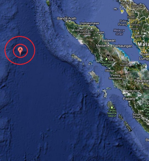 Off West Coast of Northern Sumatra Earthquake