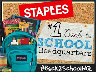 Staples #Back2SchoolHQ