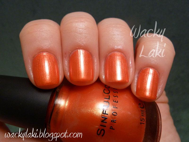 Wacky Laki: Sinful Colors - Tapping Nails