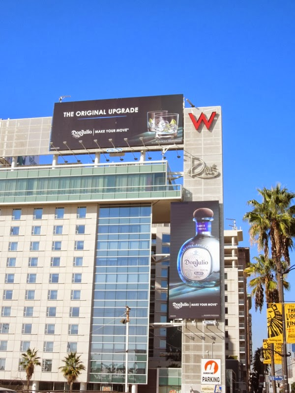 Don Julio Tequila Make your move billboards