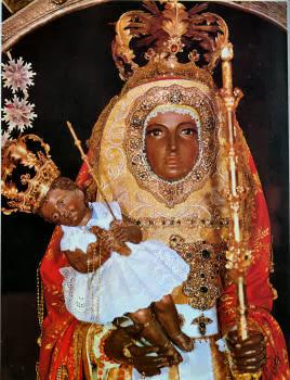 Fotografia de la Imagen de la Virgen Candelaria de Tenerife