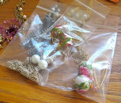 storing costume jewelry