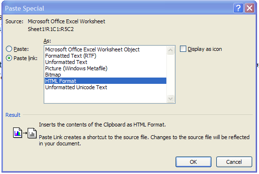 how to create data objects within excel