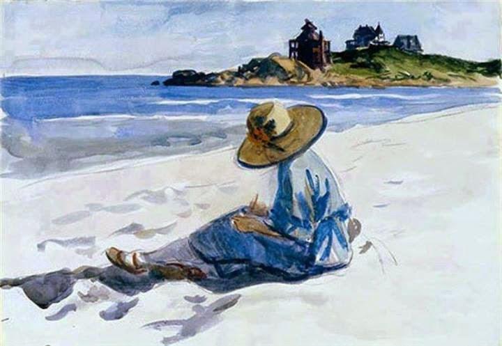 L 39 olivo saraceno se ti ricordo di rosanna bazzano for Hopper finestra sul mare