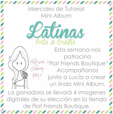 http://latinasartsandcrafts.blogspot.com/2014/04/tutorial-8-mini-album-pajarera.html