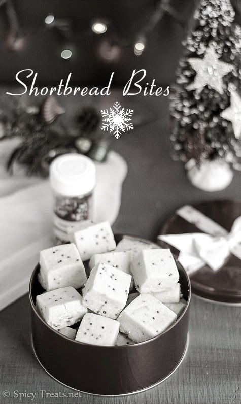 Shortbread Bites Recipe