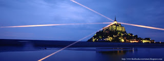Une photo de couverture Facebook mont st Michel