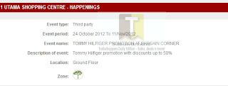 Tommy Hilfiger Bargain Corner Sale 2012