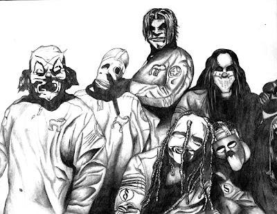 desenho Slipknot