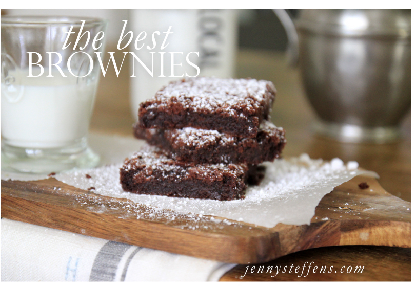 ... : The BEST Brownies... Truffle Brownies | LG EasyClean Oven Range