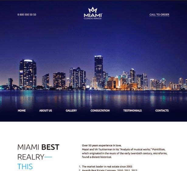 Miami Free PSD