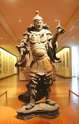 Japan Famous God, Bishamon, Izanagi,  Haniyasu-Hiko