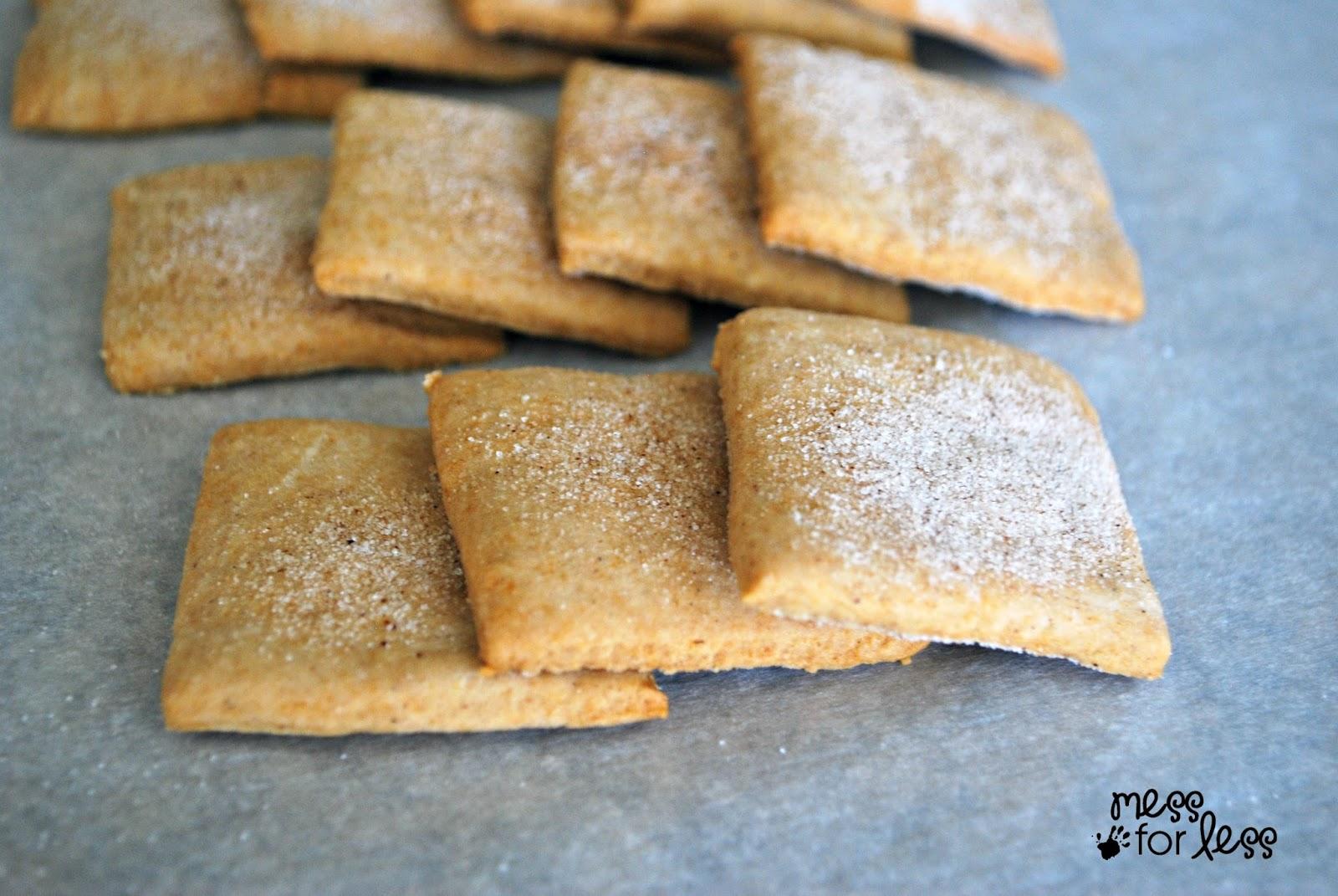 Cinnamon sugar graham crackers