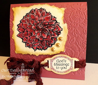 Our Daily Bread Designs, Dahlia, Mini Tags 3