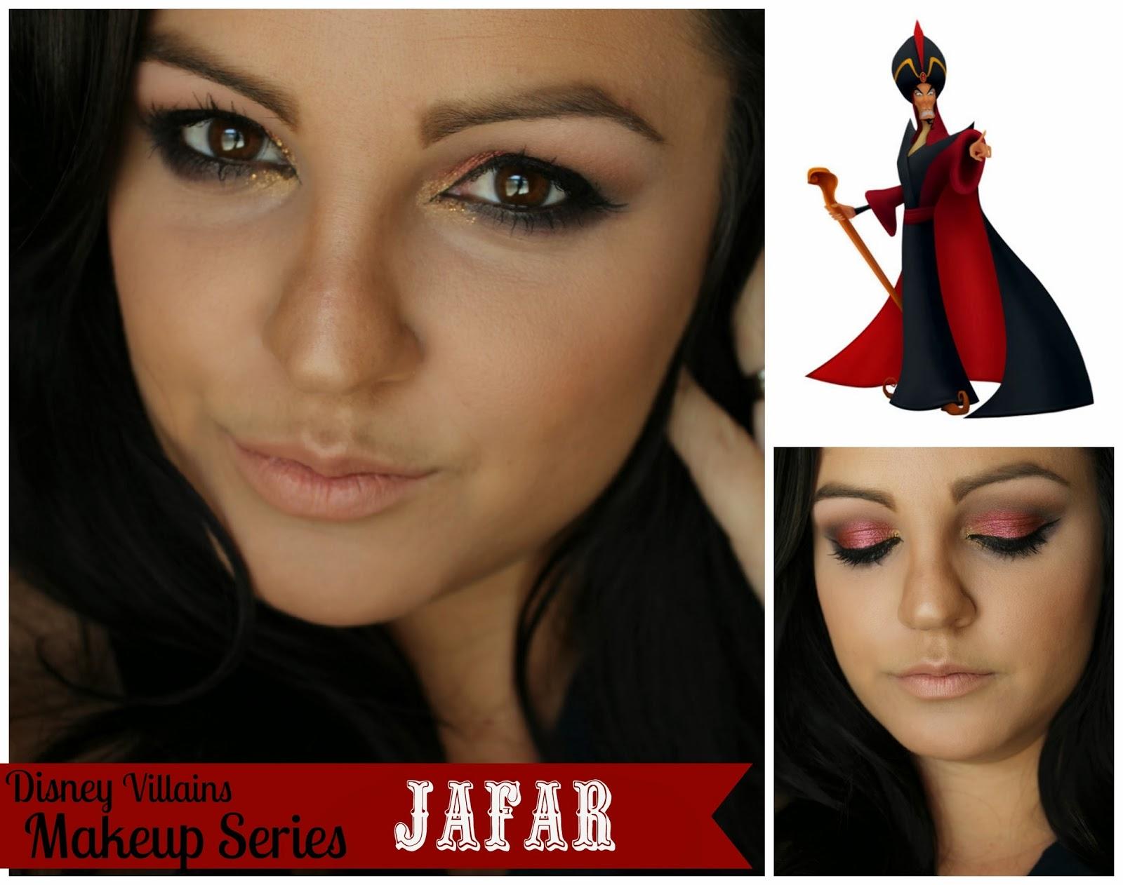 ... : Disney Villains Makeup Series {Jafar} Makeup Monday Linky Party