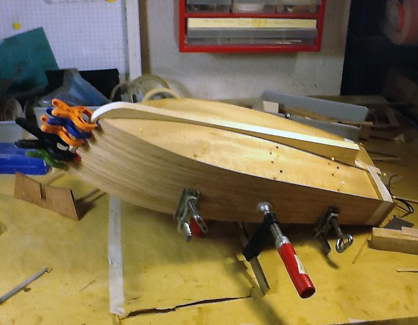 Modellismo navale rc model boats mar piccola barca da for Piani di costruzione del negozio con alloggi