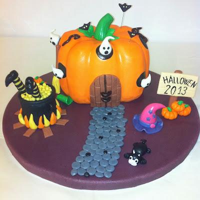 tarta hallowen