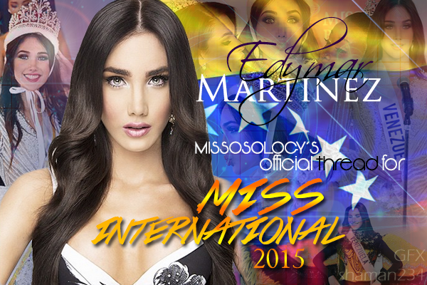 Edymar Martinez, Miss International 2015