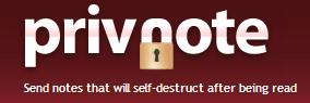 شرح موقع Privnote لإرسال المعلومات السرية