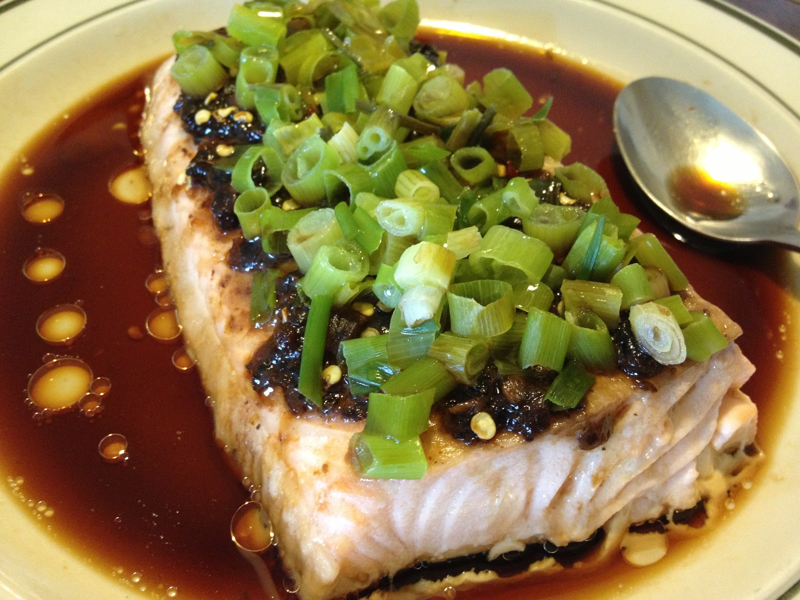 Food locker steamed salmon with black beans the power of steam forumfinder Image collections