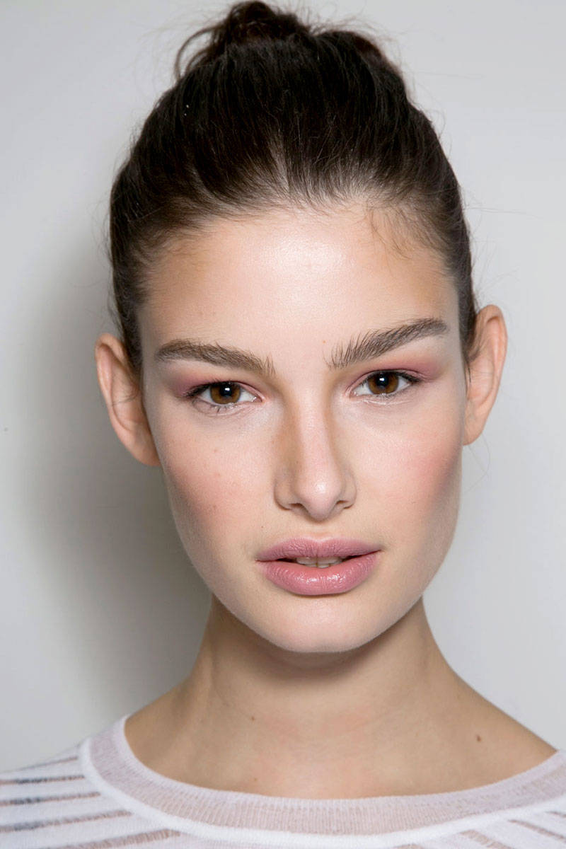 fashion designer, natural look, make-up,