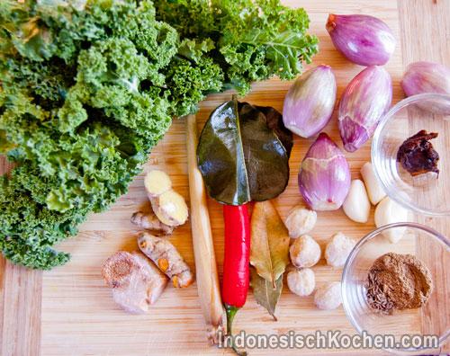 Grünkohl vegetarisch indonesisch rezept