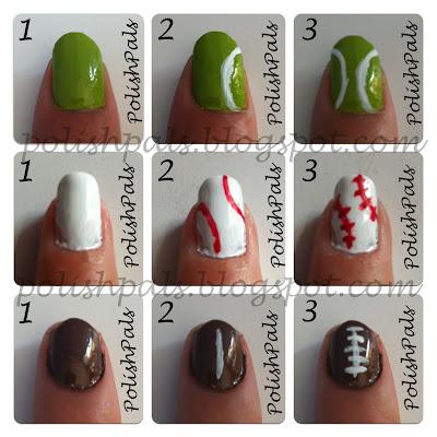 Sports Nails Tutorial