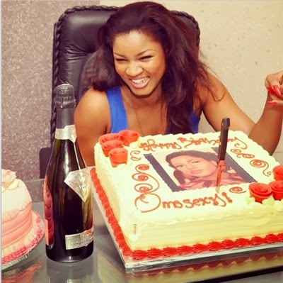 omotola jalade surprise 36th birthday