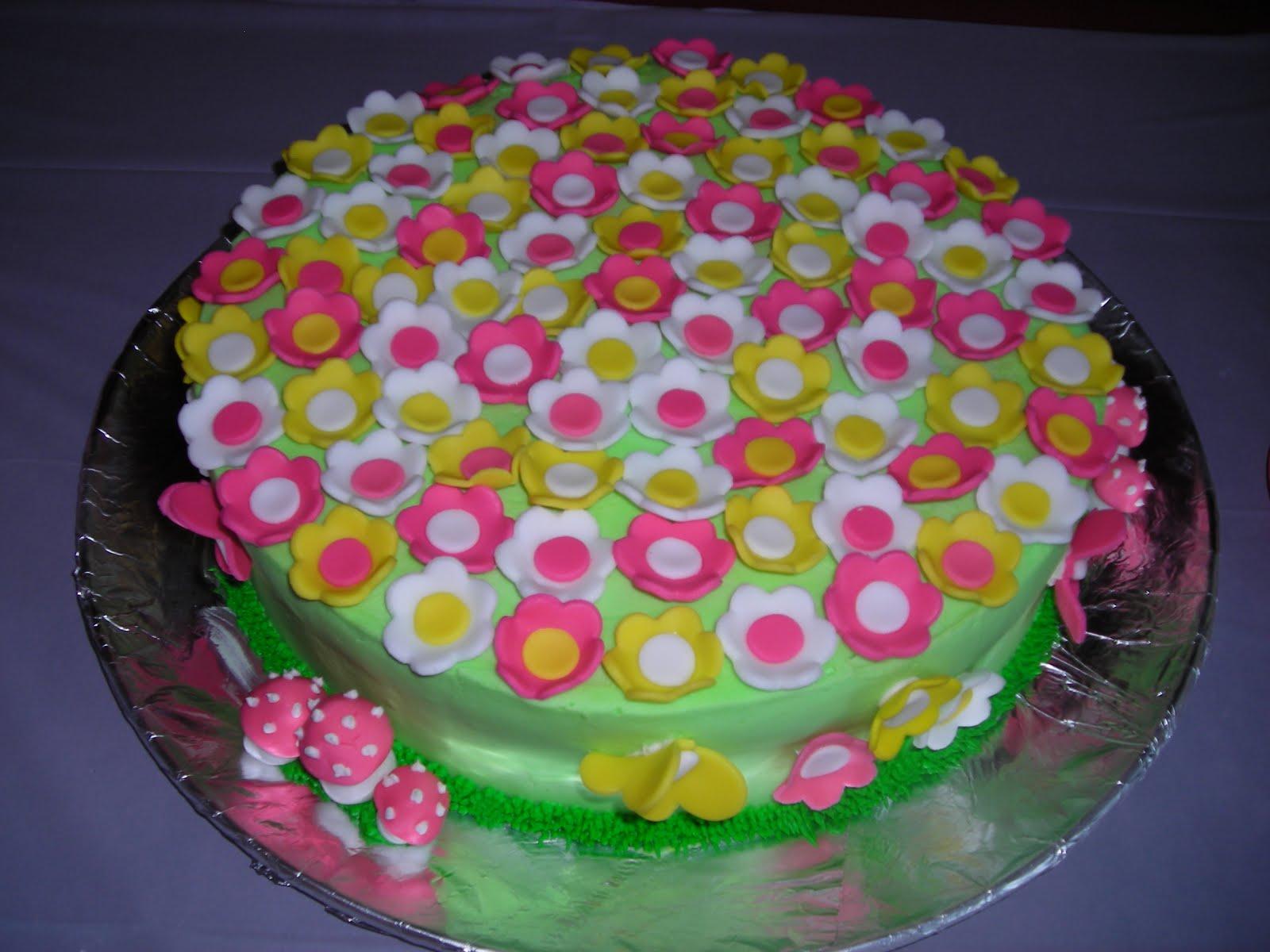 pattycakes: Fairy Garden Party Cakes