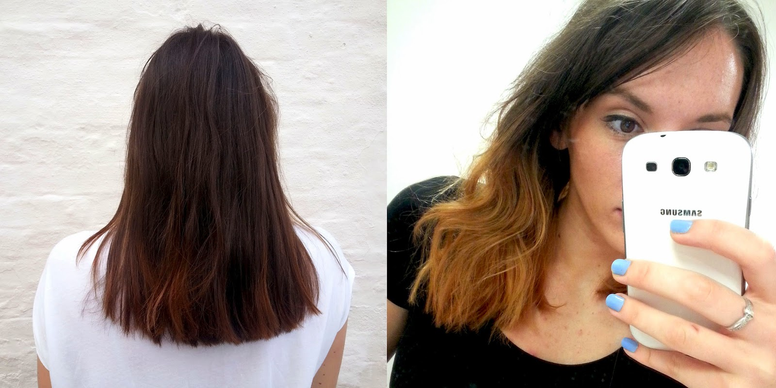 Bleach London DIY Dip Dye Review Before After