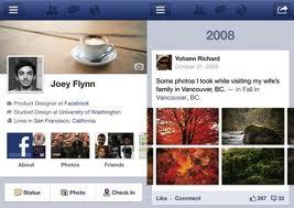 Facebook Luncurkan FB Timeline di Handphone