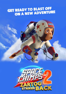 Space Chimps 2: Zartog Strikes Back (2010) Español