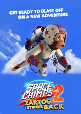 space chimps 2 zartog strikes back Space Chimps 2: Zartog Strikes Back (2010) Español