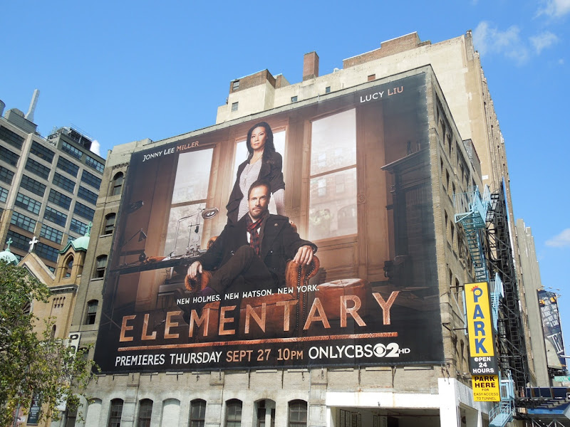 Giant Elementary season 1 billboard NYC