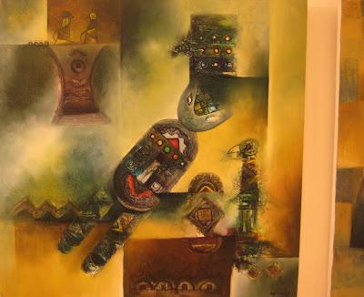 Tác phẩm hội họa về đề tài Tây nguyên 17