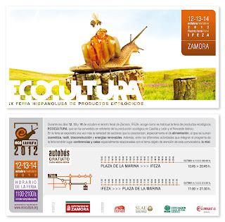 Tarjetón informativo Ecocultura 2012
