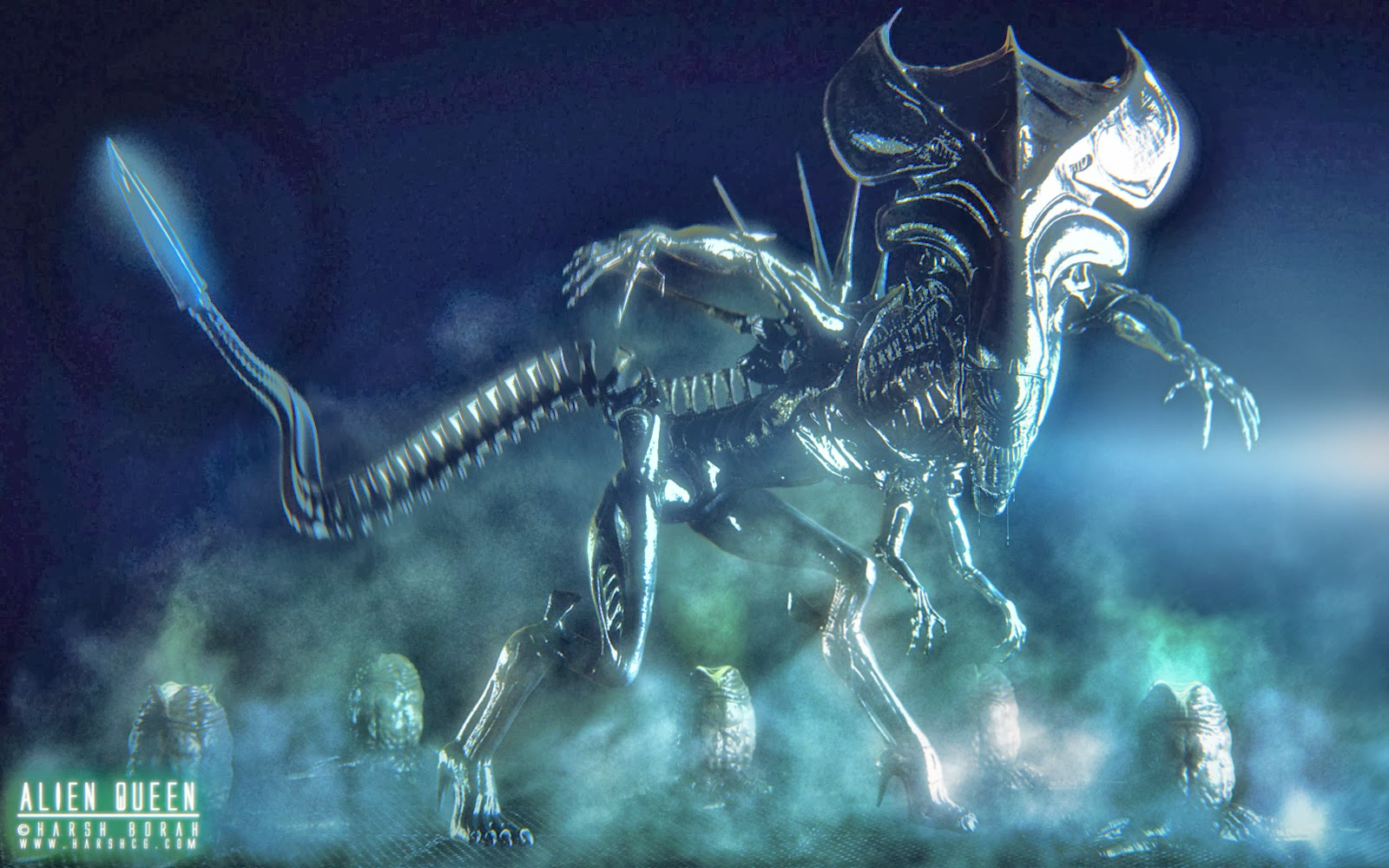 Xenomorph Queen Wallpaper Tyranids Rejoice! | Fr...