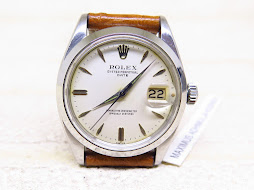 ROLEX OYSTER PERPETUAL DATE WHITE CREAM DIAL - ROLEX 1500