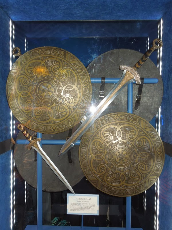 Thor Dark world Einherjar sword shield props