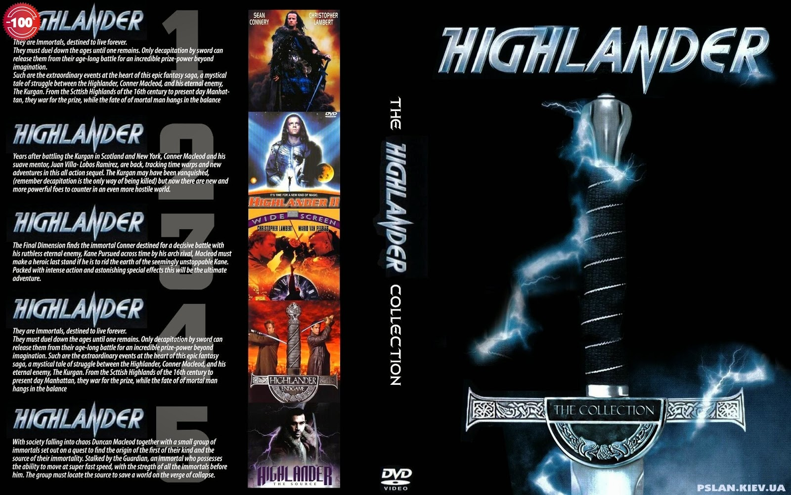 Highlander - Χαϊλάντερ ο Αθάνατος 1986 - 2007 (Collection) tainies online oipeirates