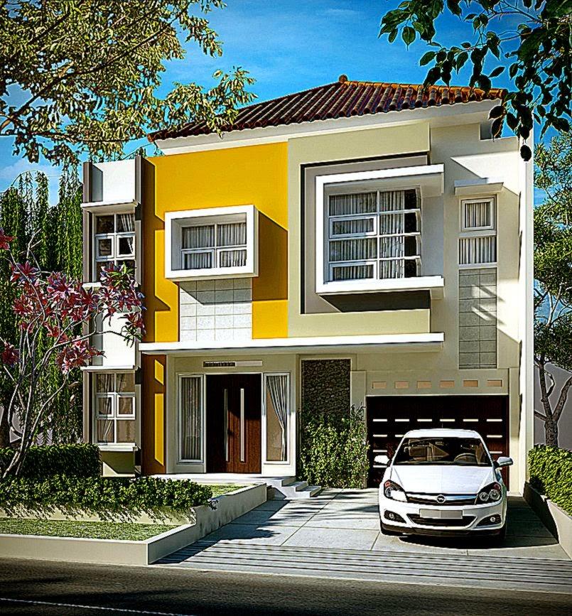 Foto Rumah Mewah Minimalis Modern  Arsitek Rumah Minimalis