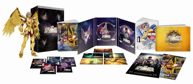 Les Chevaliers du Zodiaque en DVD et Blu-ray