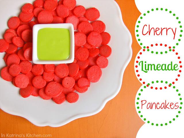 Cherry Limeade Pancakes @Katrinaskitchen