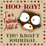 I'm a featured artist at The Kraft Journal x 2!!!