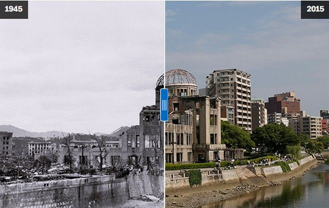 Hiroshima Then And Now: You Won't Believe What It Looks Like Today!