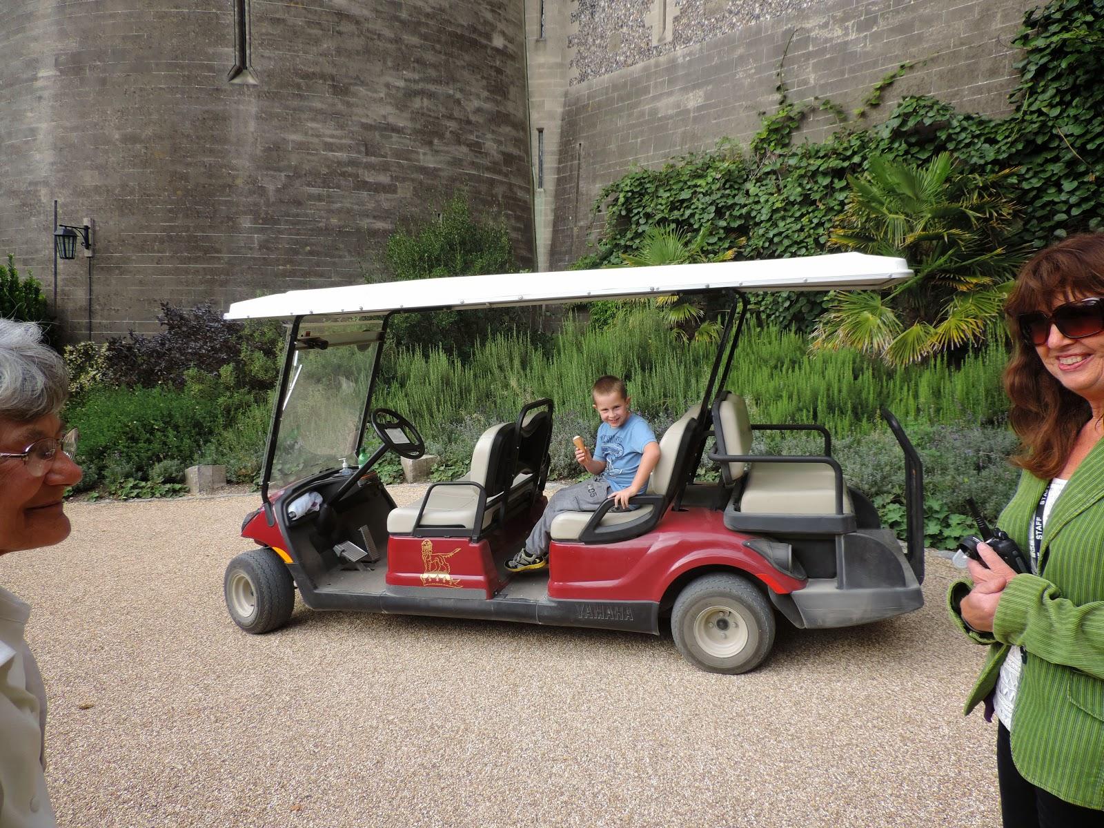 arundel castle tourist bus